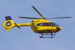 PASSENGERさんが、ミュンヘン・フランツヨーゼフシュトラウス空港で撮影したADAC 航空救急 EC145T2の航空フォト(写真)