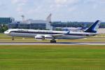 PASSENGERさんが、ミュンヘン・フランツヨーゼフシュトラウス空港で撮影したタイ王国空軍 A340-541の航空フォト(写真)