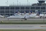 SIさんが、オヘア国際空港で撮影したエクスプレスジェット・エアラインズ ERJ-145XRの航空フォト(写真)