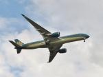 aquaさんが、羽田空港で撮影したベトナム航空 A350-941XWBの航空フォト(写真)