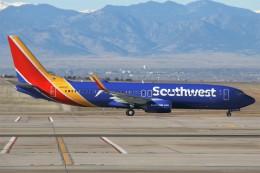 masa707さんが、デンバー国際空港で撮影したサウスウェスト航空 737-8H4の航空フォト(飛行機 写真・画像)