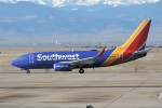 masa707さんが、デンバー国際空港で撮影したサウスウェスト航空 737-7H4の航空フォト(飛行機 写真・画像)