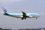 senyoさんが、成田国際空港で撮影した大韓航空 747-4B5の航空フォト(写真)