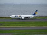 カップメーンさんが、羽田空港で撮影したスカイマーク 737-82Yの航空フォト(写真)