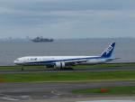 カップメーンさんが、羽田空港で撮影した全日空 777-381/ERの航空フォト(飛行機 写真・画像)