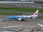 カップメーンさんが、羽田空港で撮影した日本トランスオーシャン航空 737-8Q3の航空フォト(写真)