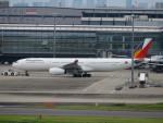 カップメーンさんが、羽田空港で撮影したフィリピン航空 A330-343Xの航空フォト(飛行機 写真・画像)