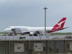 カップメーンさんが、羽田空港で撮影したカンタス航空 747-438/ERの航空フォト(写真)