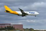 mojioさんが、成田国際空港で撮影したポーラーエアカーゴ 747-46NF/SCDの航空フォト(飛行機 写真・画像)