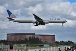 mojioさんが、成田国際空港で撮影したユナイテッド航空 777-322/ERの航空フォト(飛行機 写真・画像)