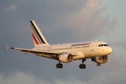 航空フォト:F-GUGO エールフランス航空 A318