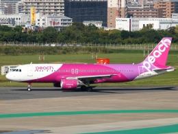 FT51ANさんが、福岡空港で撮影したピーチ A320-214の航空フォト(写真)