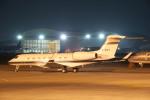 髪刈虫(かみきりむし)さんが、名古屋飛行場で撮影したメトロジェット Gulfstream G650 (G-VI)の航空フォト(飛行機 写真・画像)