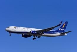 Frankspotterさんが、マドリード・バラハス国際空港で撮影したボリビアーナ航空 767-328/ERの航空フォト(飛行機 写真・画像)