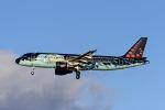 Frankspotterさんが、マドリード・バラハス国際空港で撮影したブリュッセル航空 A320-214の航空フォト(写真)