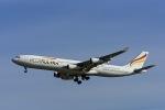 Frankspotterさんが、マドリード・バラハス国際空港で撮影したプルス・ウルトラ A340-313Xの航空フォト(飛行機 写真・画像)