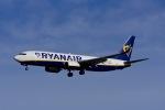 Frankspotterさんが、マドリード・バラハス国際空港で撮影したライアンエア 737-8ASの航空フォト(写真)