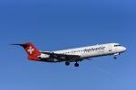 Frankspotterさんが、チューリッヒ空港で撮影したヘルベティック・エアウェイズ 100の航空フォト(飛行機 写真・画像)