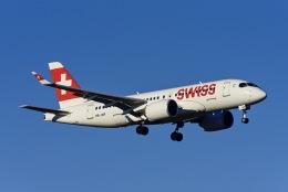 Frankspotterさんが、チューリッヒ空港で撮影したスイスインターナショナルエアラインズ BD-500-1A10 CSeries CS100の航空フォト(飛行機 写真・画像)