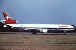 tassさんが、成田国際空港で撮影したスイスインターナショナルエアラインズ MD-11の航空フォト(写真)