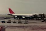ヒロリンさんが、ダニエル・K・イノウエ国際空港で撮影したノースウエスト航空 747の航空フォト(写真)