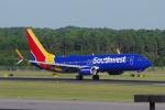 zettaishinさんが、ローリー・ダーラム国際空港で撮影したサウスウェスト航空 737-8H4の航空フォト(写真)