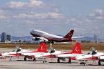Airliners Freakさんが、アタテュルク国際空港で撮影したトルコ政府 747-8ZV(BBJ)の航空フォト(飛行機 写真・画像)