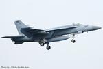 Chofu Spotter Ariaさんが、厚木飛行場で撮影したアメリカ海軍 F/A-18E Super Hornetの航空フォト(飛行機 写真・画像)