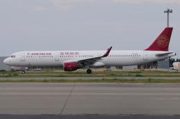 きんめいさんが、関西国際空港で撮影した吉祥航空 A321-211の航空フォト(飛行機 写真・画像)