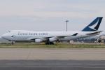 きんめいさんが、関西国際空港で撮影したキャセイパシフィック航空 747-467F/ER/SCDの航空フォト(写真)