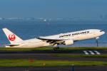 みぐさんが、羽田空港で撮影した日本航空 777-246の航空フォト(写真)