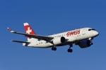 Frankspotterさんが、チューリッヒ空港で撮影したスイス航空 BD-500-1A10 CSeries CS100の航空フォト(写真)