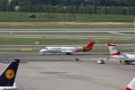 Gambardierさんが、ウィーン国際空港で撮影したアドリア航空 CL-600-2B19 Regional Jet CRJ-200LRの航空フォト(写真)