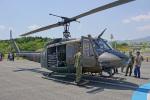 ちゃぽんさんが、キャンプ富士で撮影した陸上自衛隊 UH-1Jの航空フォト(写真)