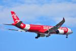 mojioさんが、成田国際空港で撮影したタイ・エアアジア・エックス A330-941の航空フォト(飛行機 写真・画像)