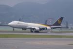 かずまっくすさんが、香港国際空港で撮影したUPS航空 747-8Fの航空フォト(写真)