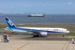 Y-Kenzoさんが、羽田空港で撮影した全日空 777-281の航空フォト(写真)