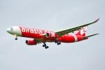frappéさんが、福岡空港で撮影したタイ・エアアジア・エックス A330-343Xの航空フォト(飛行機 写真・画像)