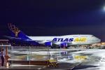 frappéさんが、福岡空港で撮影したアトラス航空 747-446の航空フォト(飛行機 写真・画像)