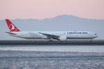 安芸あすかさんが、サンフランシスコ国際空港で撮影したターキッシュ・エアラインズ 777-3F2/ERの航空フォト(写真)