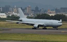 青い翼に鎧武者マークの!さんが、名古屋飛行場で撮影したオーストラリア空軍 KC-30A(A330-203MRTT)の航空フォト(飛行機 写真・画像)