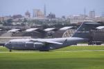 Mr.boneさんが、嘉手納飛行場で撮影したアメリカ空軍 C-17A Globemaster IIIの航空フォト(写真)
