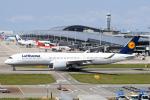 panchiさんが、関西国際空港で撮影したルフトハンザドイツ航空 A350-941XWBの航空フォト(飛行機 写真・画像)