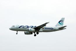 Gambardierさんが、フランクフルト国際空港で撮影したアドリア航空 A320-231の航空フォト(飛行機 写真・画像)