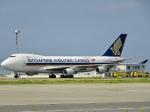 worldstar777さんが、関西国際空港で撮影したシンガポール航空カーゴ 747-412F/SCDの航空フォト(写真)