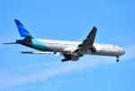 mojioさんが、成田国際空港で撮影したガルーダ・インドネシア航空 777-3U3/ERの航空フォト(飛行機 写真・画像)