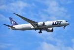 mojioさんが、成田国際空港で撮影したLOTポーランド航空 787-9の航空フォト(飛行機 写真・画像)
