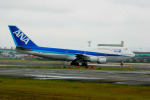 アングリー J バードさんが、福岡空港で撮影した全日空 747-481(D)の航空フォト(写真)