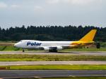 名無しの権兵衛さんが、成田国際空港で撮影したポーラーエアカーゴ 747-46NF/SCDの航空フォト(写真)
