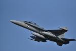 カシオペアさんが、千歳基地で撮影したオーストラリア空軍 F/A-18B Hornetの航空フォト(写真)